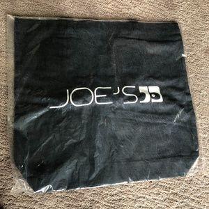 NEW Joe's Jeans denim tote bag